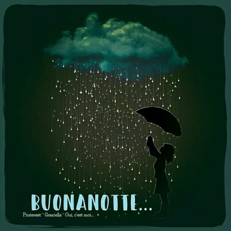 Buonanotte con la pioggia