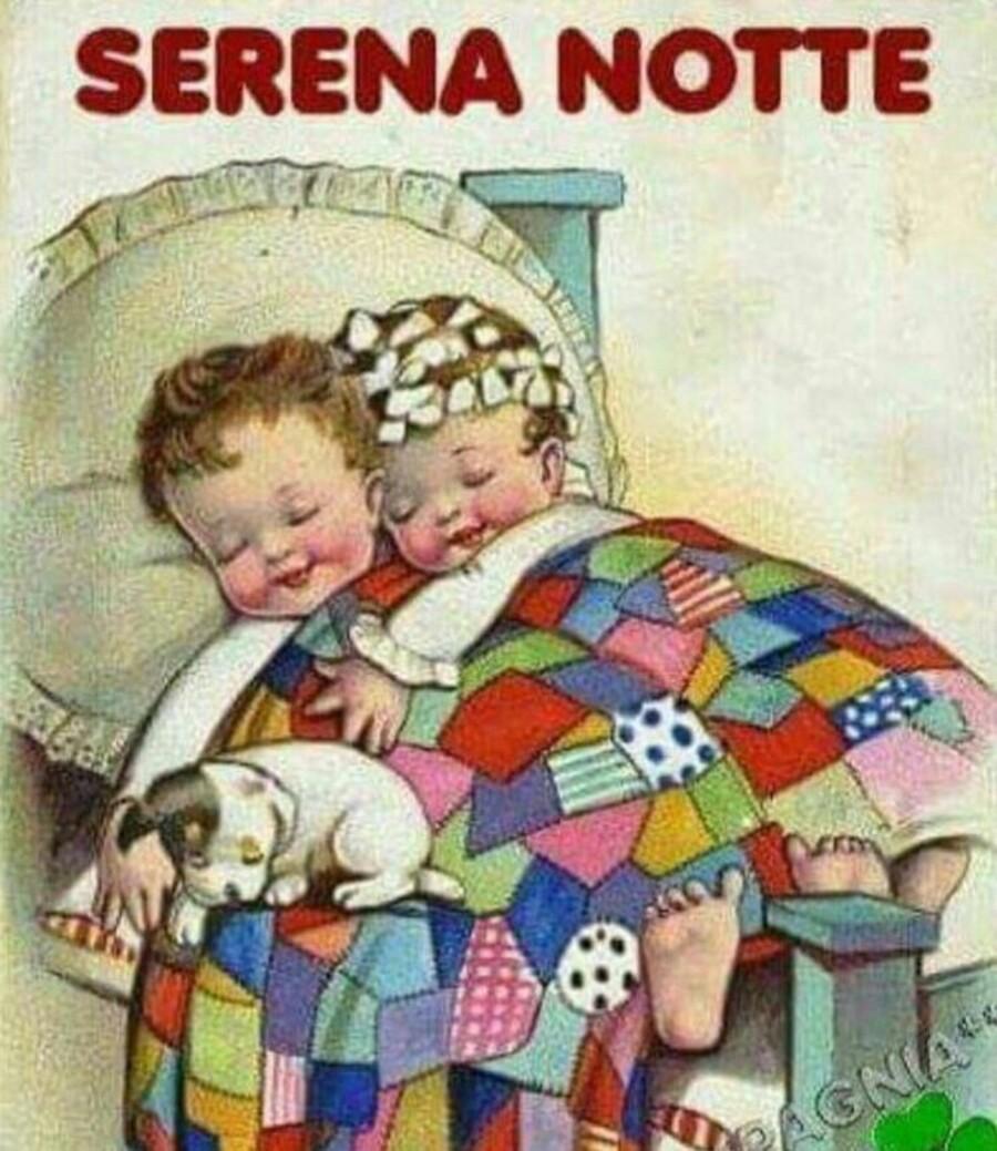 Serena Notte al calduccio sotto le coperte