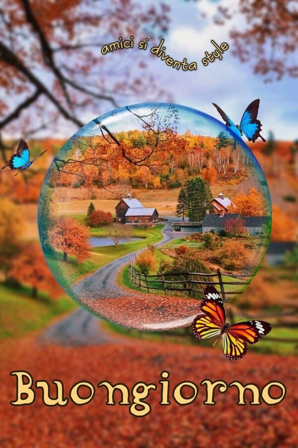 Buona Giornata a tema autunno