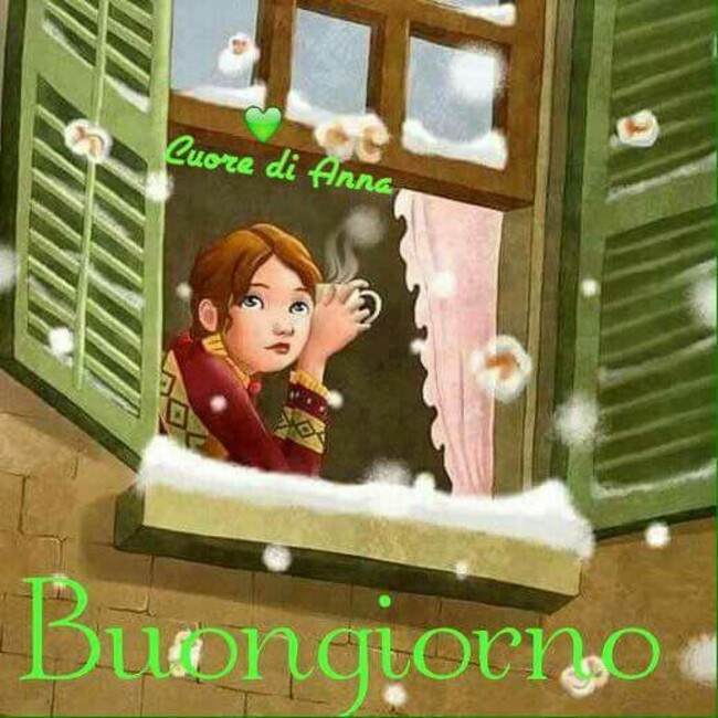 Cuore di Anna - Buongiorno con la neve