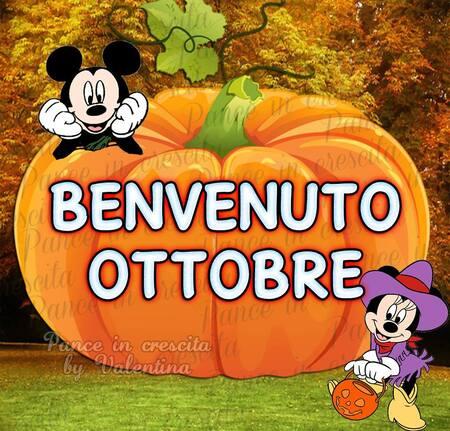 """Benvenuto Ottobre"""