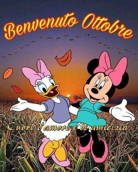 """""""Buona Giornata, Ottobre è arrivato"""" - Cuore d'Amore e di Amicizia"""