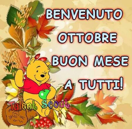 """""""Benvenuto Ottobre, Buon Mese a tutti !"""""""