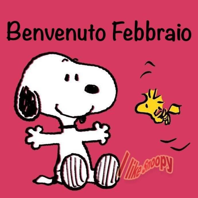 """Benvenuto Febbraio!"" - I Like Snoopy"