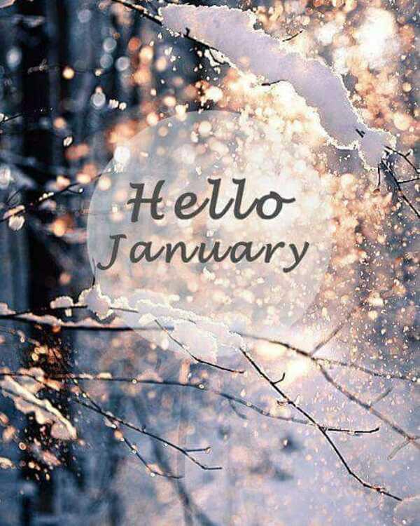 """""""Hello January"""""""