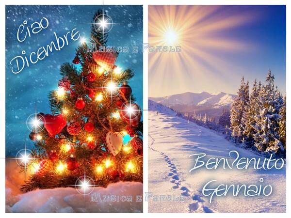 """""""Ciao Dicembre, Buongiorno Gennaio!"""" - Musica e Parole"""