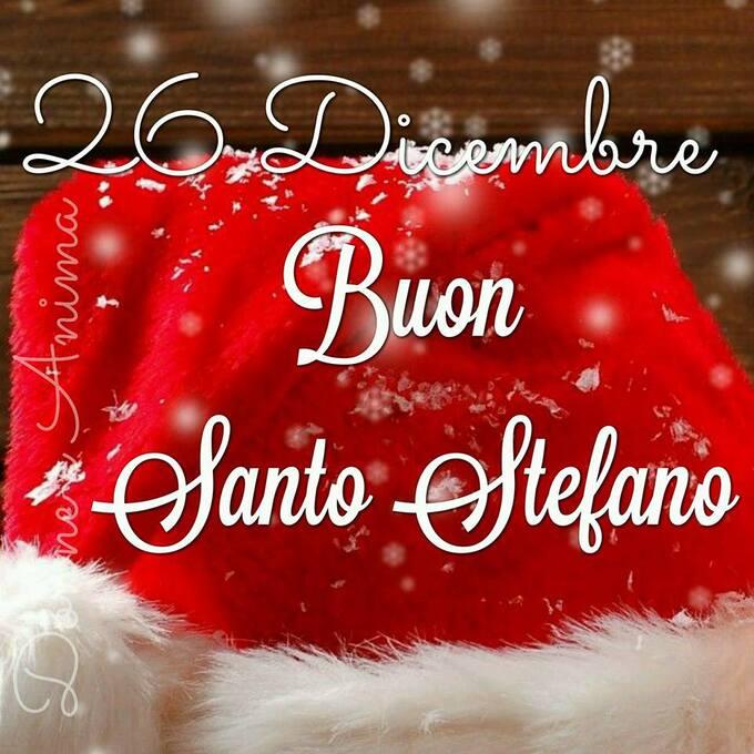 """""""26 Dicembre Buon Santo Stefano"""""""