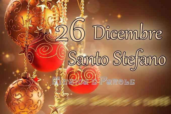 """""""Santo Stefano 26 Dicembre"""" - Musica e Parole"""