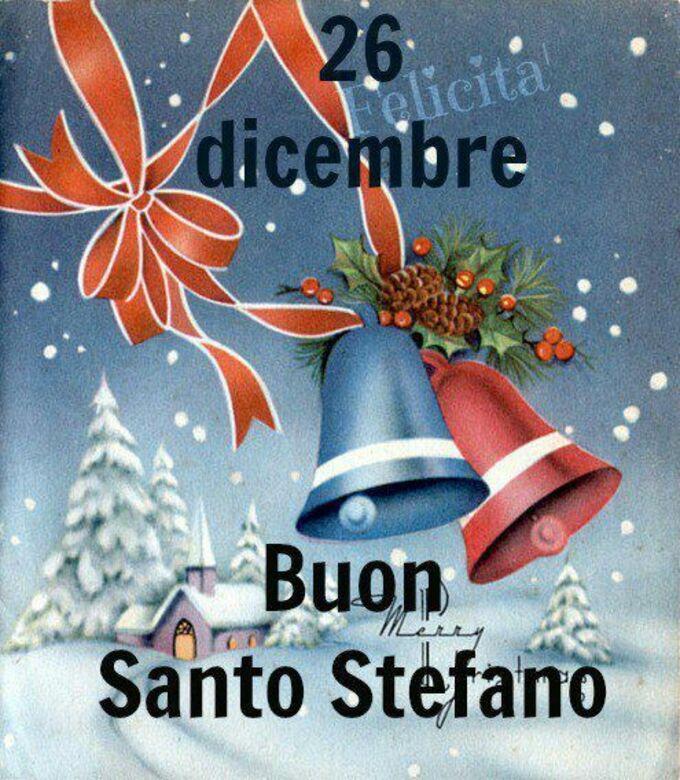 """..... Buon Santo Stefano"""