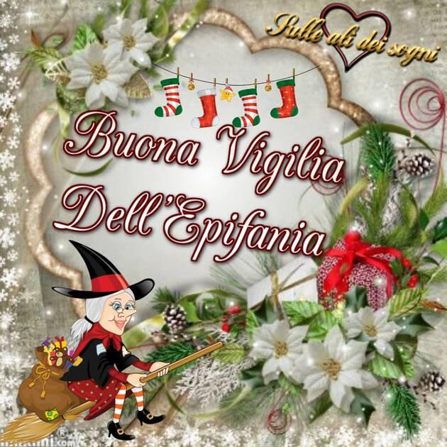 """Cartoline di auguri gratis - """"Buona Vigilia dell'Epifania"""""""