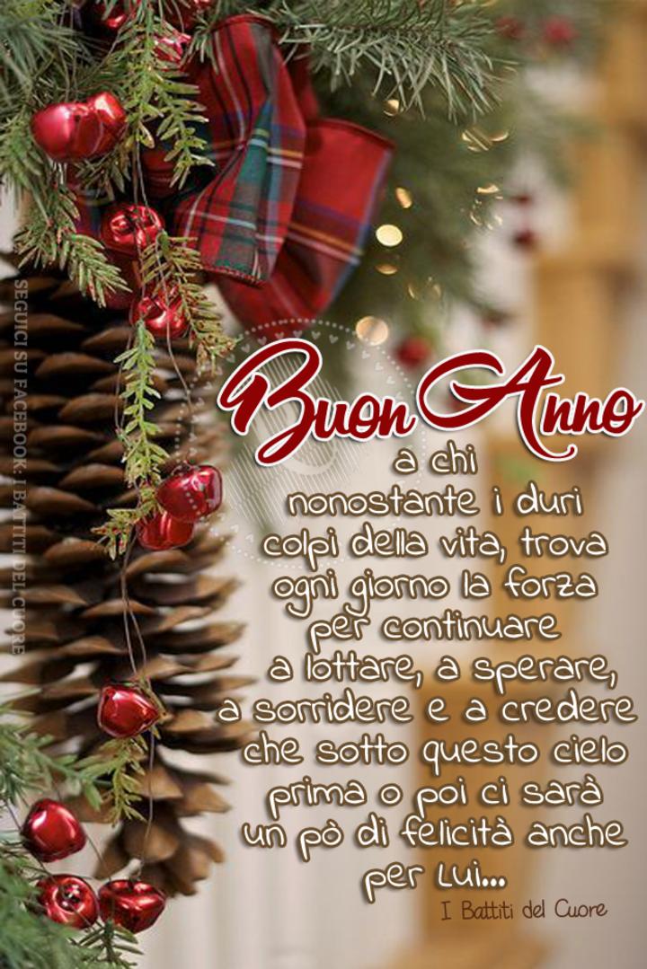 """""""Buon Anno a chi, nonostante i duri colpi della vita, trova ogni giorno la forza per continuare a lottare, a sperare, a sorridere. E a credere che sotto a questo cielo, prima o poi ci sarà anche un pò di felicità per lui..."""""""