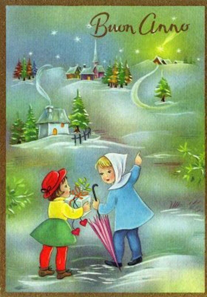 Buongiorno e Buon Anno Nuovo