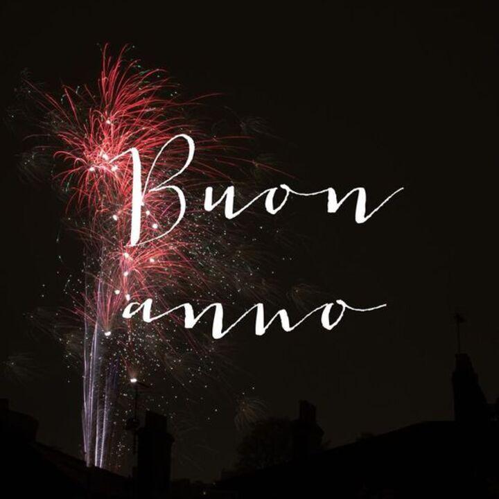 I migliori auguri di Buon Anno