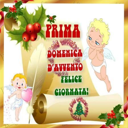 """""""Felice Giornata! Prima Domenica di Avvento"""""""