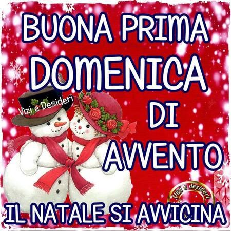 """""""Il Natale si avvicina... Buona Prima Domenica di Avvento!"""""""