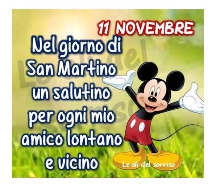 """""""Nel giorno di San Martino un salutino per ogni mio amico lontano e vicino. 11 Novembre"""""""
