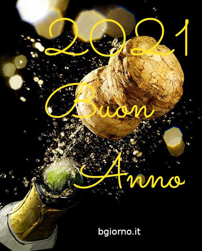 """""""2021 Buon Anno"""" - Cartoline di auguri per WhatsApp e Facebook"""